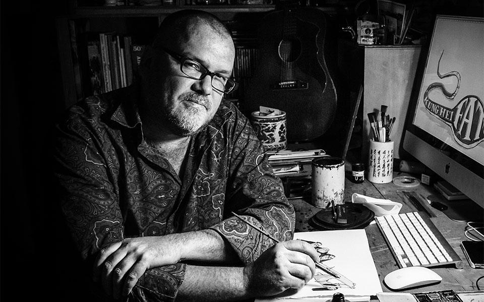Harry Harrison cartoonist