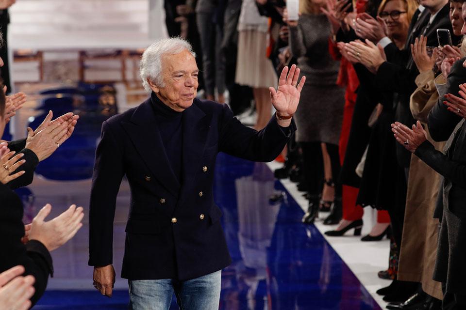 American fashion designer Ralph Lauren
