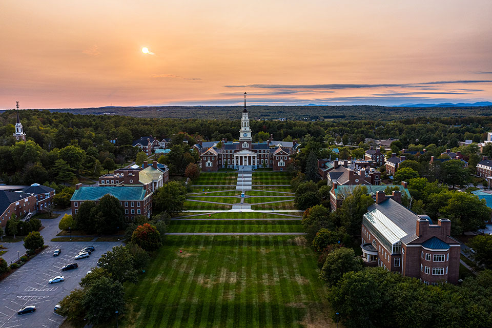 Colby College in Waterville Maine