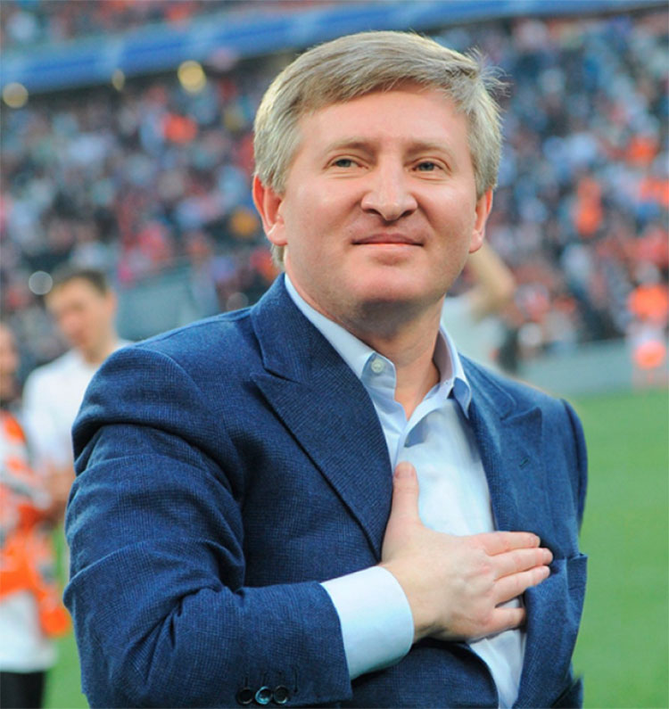 Rinat Leonidovych Akhmetov, the founder and president of System Capital Management (SCM)