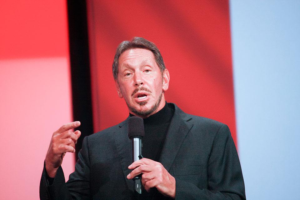 Larry Ellison (Lawrence Joseph Ellison), Executive Chairman and CTO of Oracle Corporation