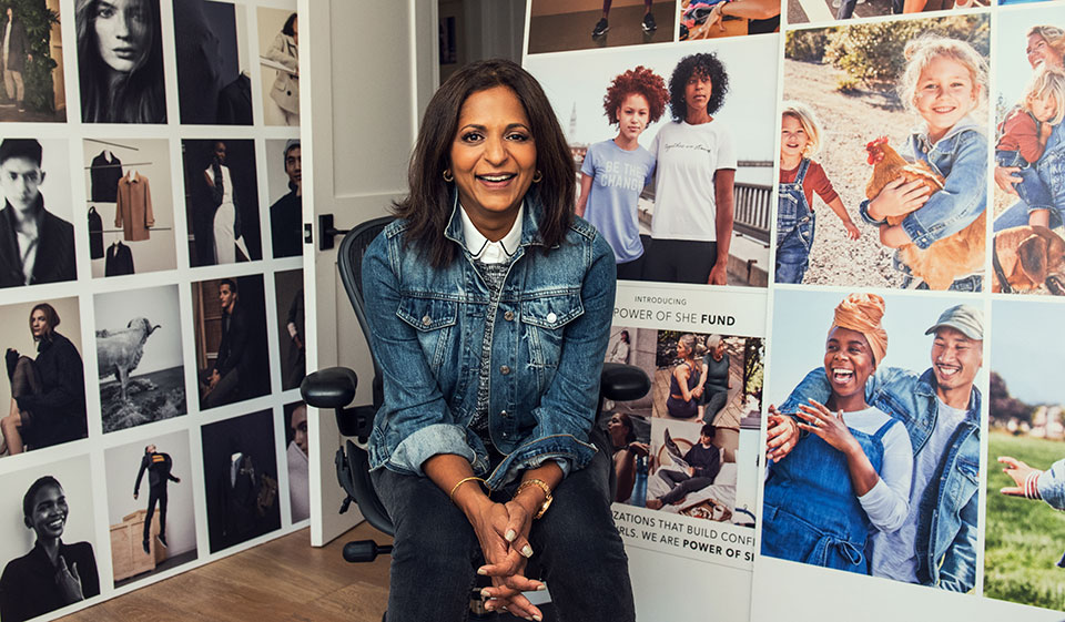 Sonia Syngal the Chief Executive Officer of Gap Inc