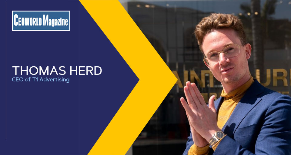 Thomas Herd, CEO of T1 Advertising