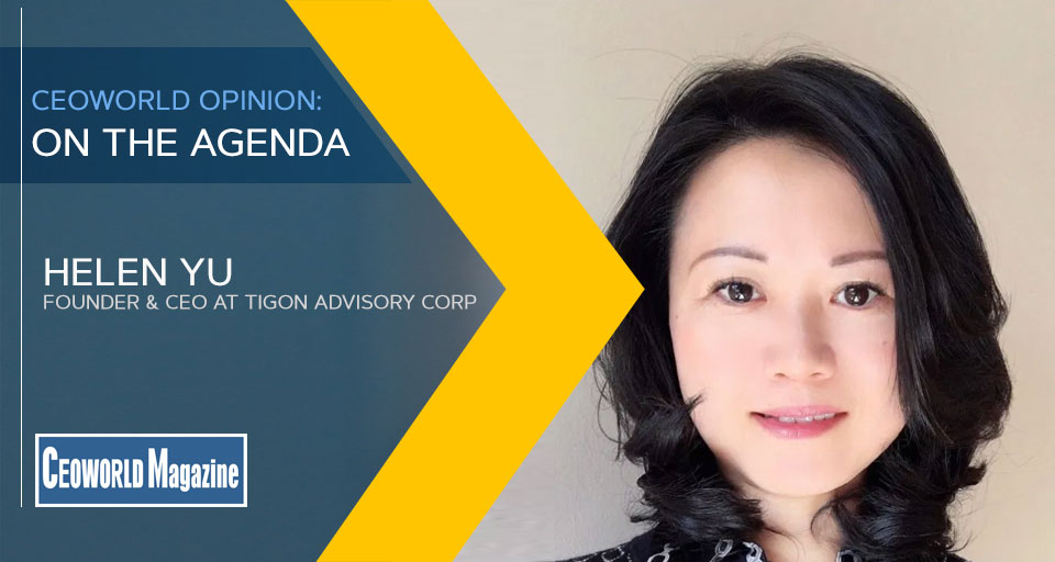 Helen Yu the founder and CEO of Tigon Advisory Corp.