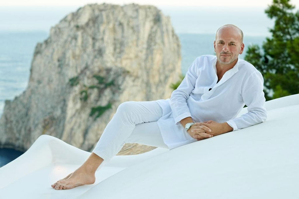 Antonino Aiello, Owner and Founder of 100% Capri