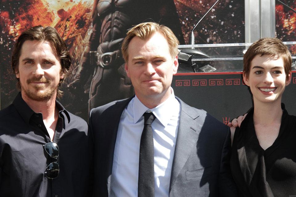 Christian Bale, Christopher Nolan, Anne Hathaway