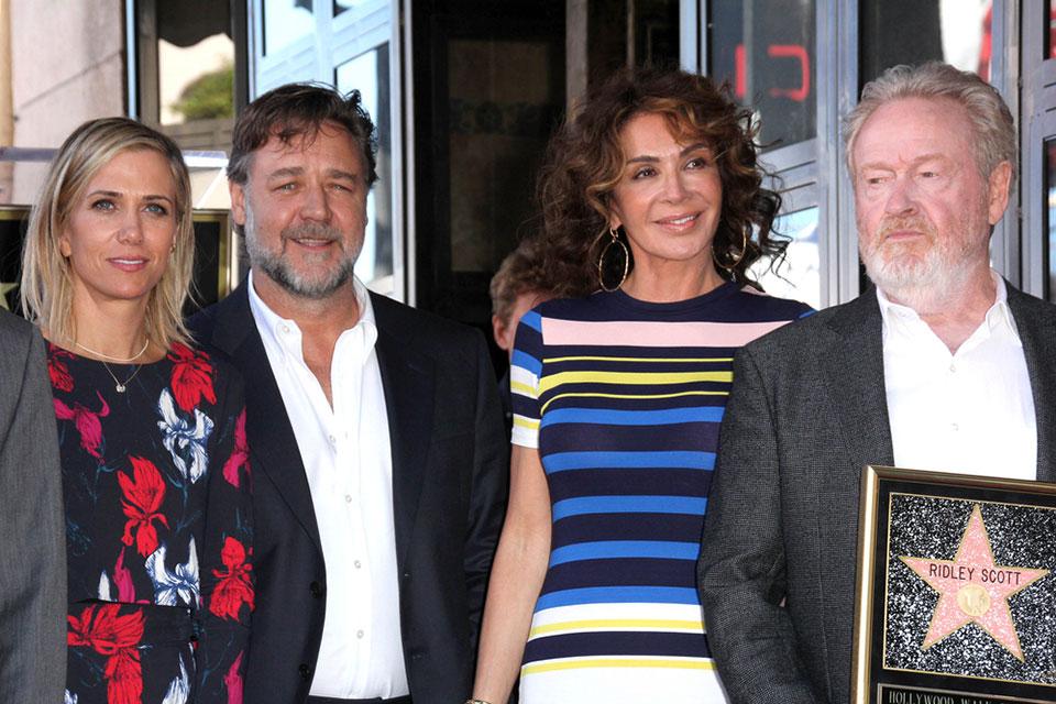Kristen Wiig, Russell Crowe, Giannina Facio, Ridley Scott