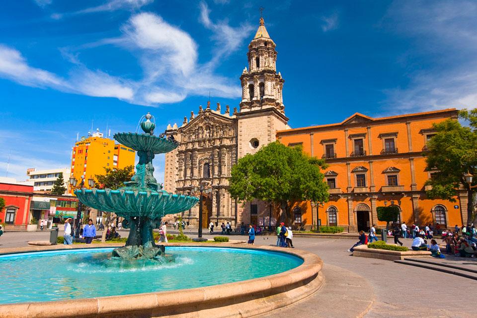 Plaza Del Carmen, San Luis Potosi, Mexico