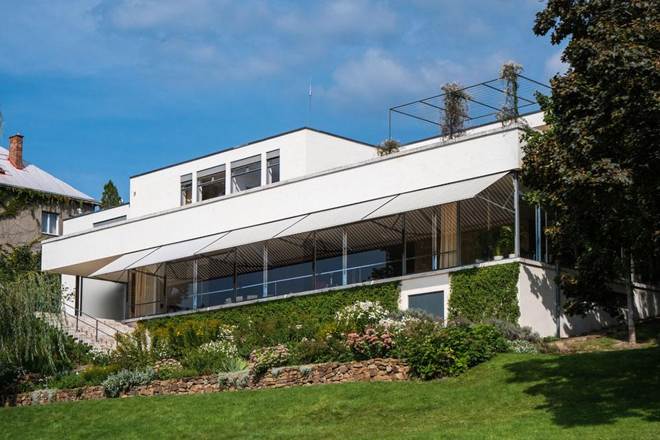 Brno, Czech Republic Villa Tugendhat Modernist House designed By Mies van der Rohe in the International Bauhaus Style