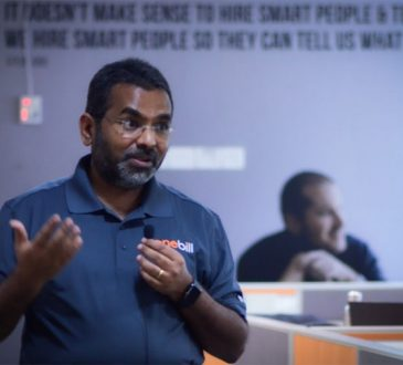 JK Chelladurai, CEO at OneBill