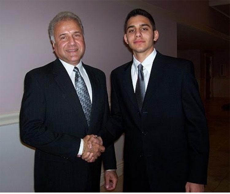 Ray Boorojian and Garrett Boorojian. (Tampa, Florida, 2006).